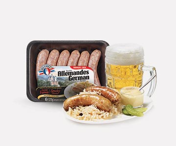 olymel german sausages