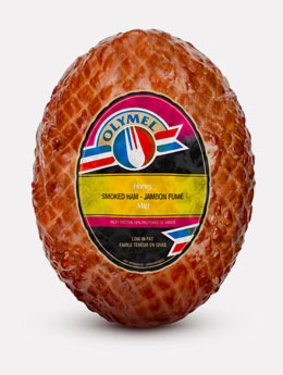 Honey handcrafted open net smoked ham