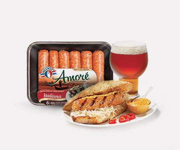 Olymel amoré spicy italiana sausages
